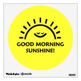 Good Morning Sunshine Wall Sticker