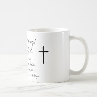 Good Morning, This is God Mugs