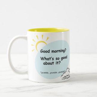 Good Morning Two-Tone Coffee Mug