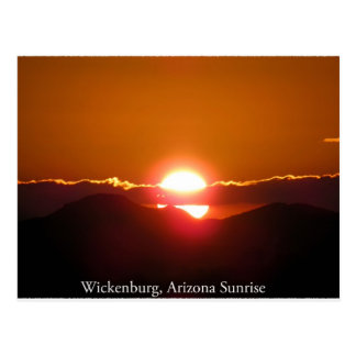 Good Morning Wickenburg, Arizona Postcard