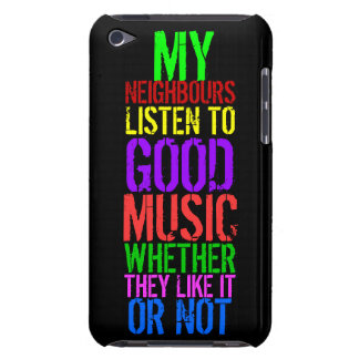 GOOD MUSIC BARELY THERE iPod COVER