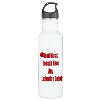 Good Music Does Not Expire coffee mug cup Stainless Steel Water Bottle