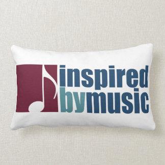good music vibes lumbar pillow