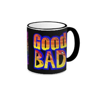 Good n Bad Orange Spraypaint Graphic Customize Me! Coffee Mugs