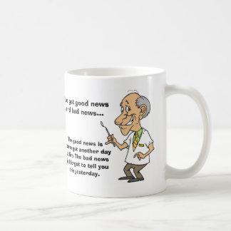 Good News and Bad News Coffee Mug