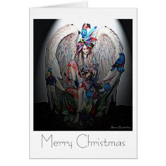 Good News Angel Christmas Card