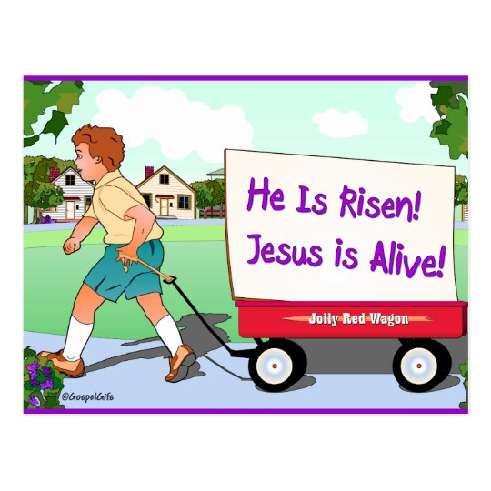 Good News: Jesus is Alive Postcard