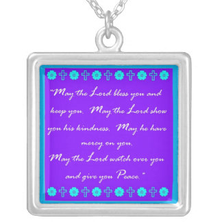 Good News Silver Plated Necklace