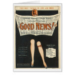 Good News! Vintage Songbook Cover Card