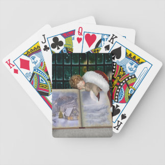 Good night bicycle playing cards