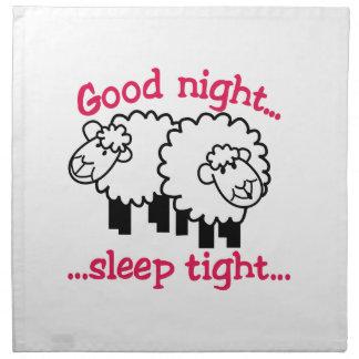 Good Night Cloth Napkins