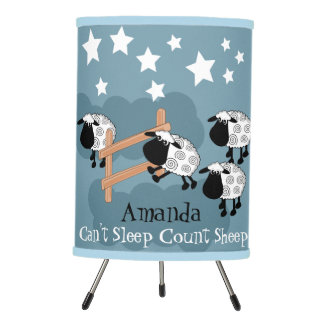 Good night counting sheep tripod lamp