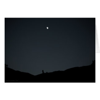 Good Night Earth Card