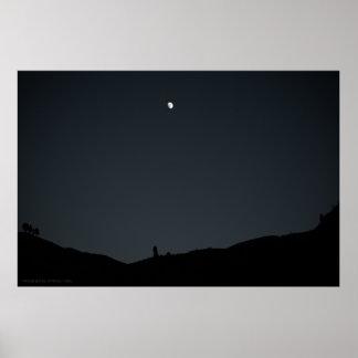 Good Night Earth Print