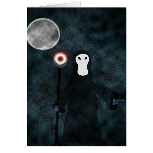 Good Night Grim Reaper Card