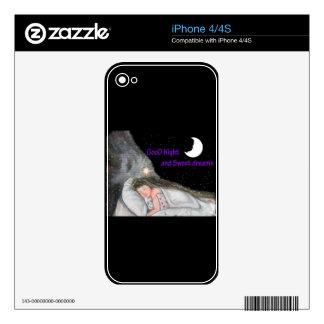 Good Night iPhone 4S Skin
