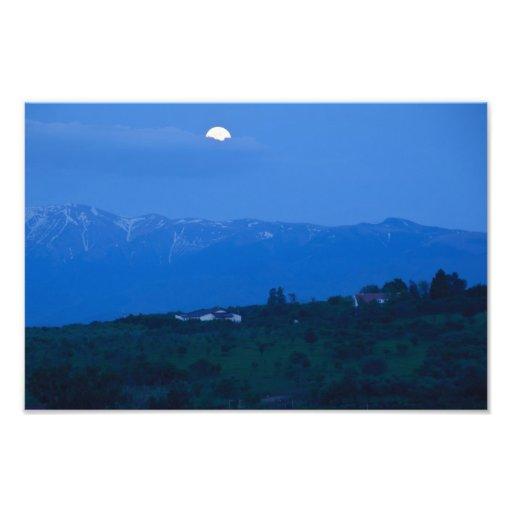 Good night moon photo print