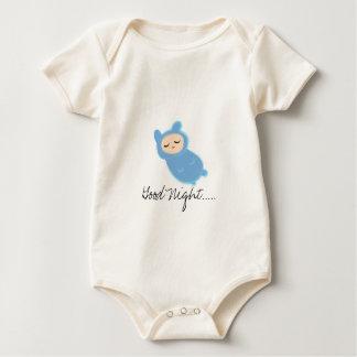Good Night..... (moonlight fifi) Baby Bodysuit