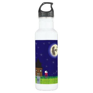 Good Night Panda Liberty Bottle 24oz Water Bottle
