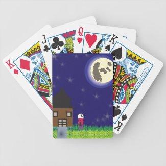 Good Night Panda Playing Cards