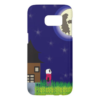 Good Night Panda Samsung Galaxy S7 Case