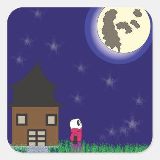 Good Night Panda Sticker