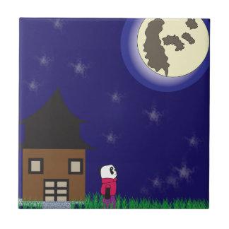 Good Night Panda Tile