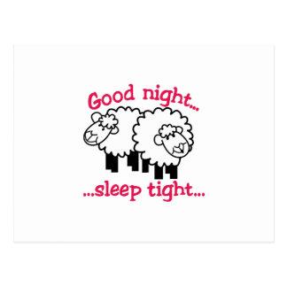 Good Night Postcard