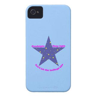 Good Night Sleep Tight Star iPhone 4 Cover