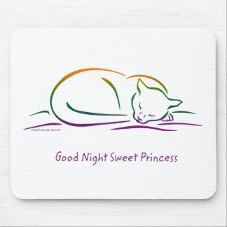 Good Night Sweet Princess (Cat) Mouse Pad