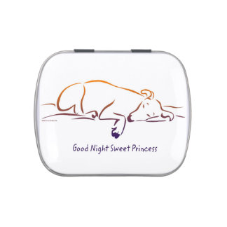 Good Night Sweet Princess (Dog) Candy Tin