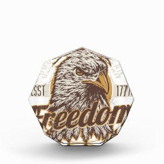 Good Ol American Freedom (Vintage) Acrylic Award