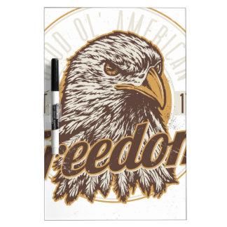 Good Ol American Freedom (Vintage) Dry-Erase Board
