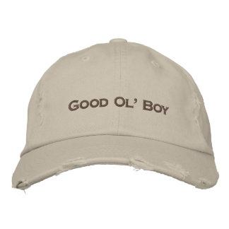 Good Ol' Boy embroidered baseball hat cap
