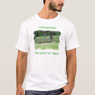 Good Ol Days-customize T-Shirt