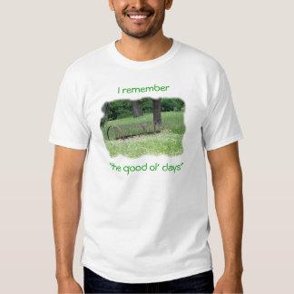 Good Ol Days-customize Tee Shirt