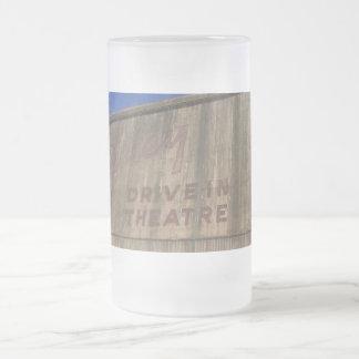 good ol' days frosted glass beer mug