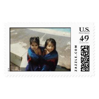 Good Ol' Days Postage Stamp