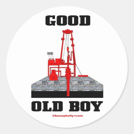 Good Old Boy, Oil Field Sticker