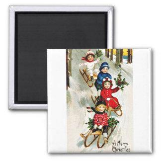 Good Old Christmas Fridge Magnet