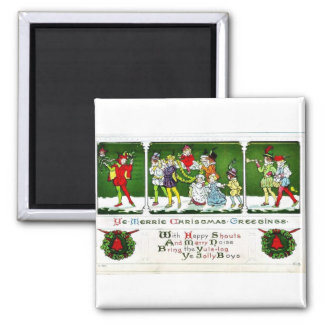 Good Old Christmas Fridge Magnets