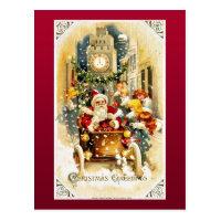 Good Old Christmas Postcard