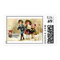 Good Old Christmas Stamps