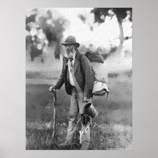Good Old Jolly Australian Swagman Poster