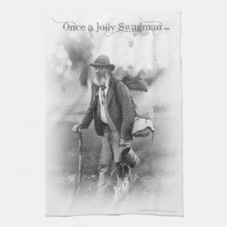 Good Old Jolly Swagman Tea Towel
