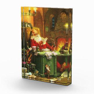 Good Old Santa Claus Acrylic Award