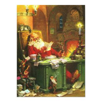 Good Old Santa Claus Card