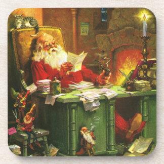 Good Old Santa Claus Drink Coaster