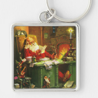 Good Old Santa Claus Keychain