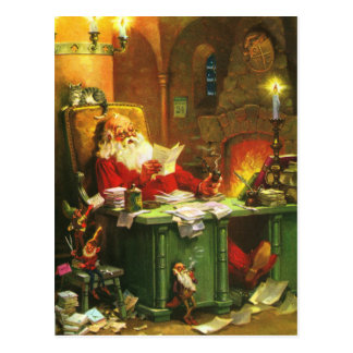 Good Old Santa Claus Postcard